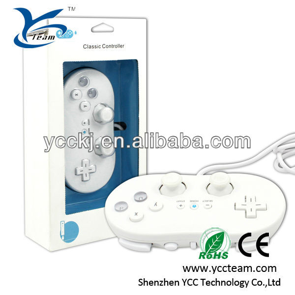 Wholesale! classic USB controller nunchuck for wii game accessory