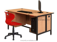 Artistic pictures of wooden computer table, computer table models, types of computers tables design