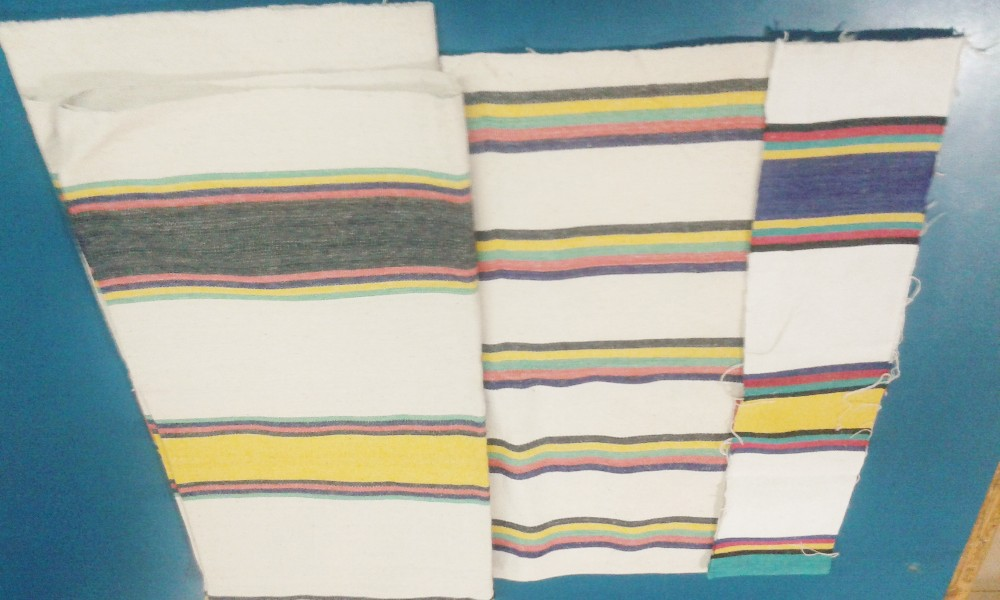 Yarn Dyed Canvas (stripe printed)