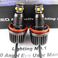 Best Selling H8 40W LED Marker /Canbus High Power 40W H8 LED Angel Eyes bulb for used car e60 e90 e92