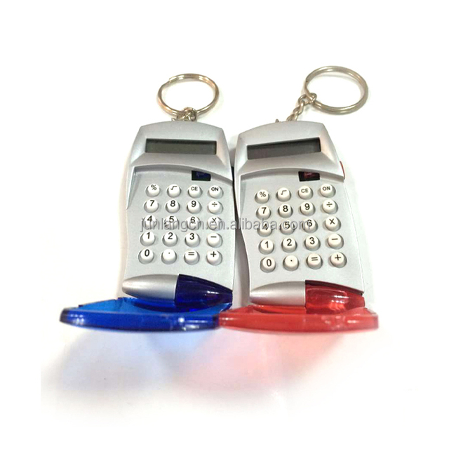 promotional mini phone case calculator with key chain