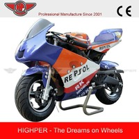 Excelent Performance Mini Pocket Bike with New Plastic Body(PB009)