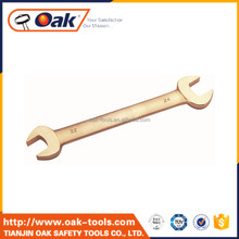 rust- proof Aluminium bronze double open end wrench