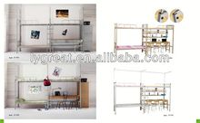 2013 Selling metal detachable bunk bed for home