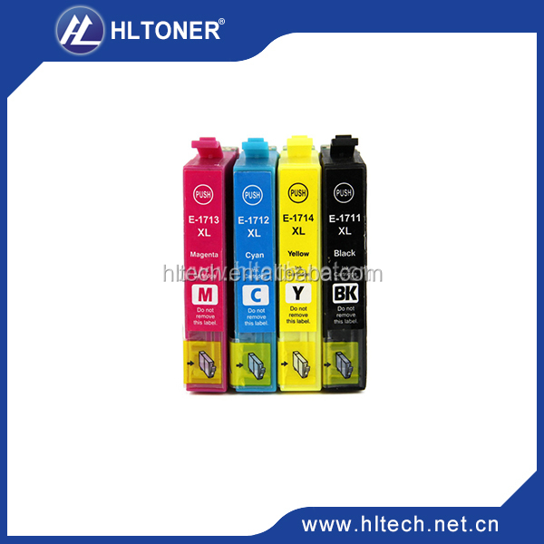 Compatible for Epson T1711 T1712 T1713 T1714 ink cartridge for Epson Expression Home XP-33/103/203/207/303/306/403/406/313/323
