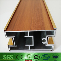 fashionable casement hot sale new style aluminium window profile