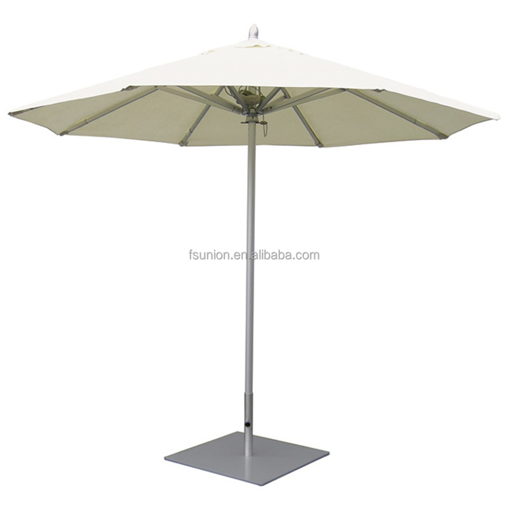 Decorating Aluminum Outdoor Sun Umbrella