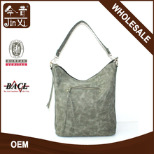 2017 popular grass green ladies shoulder bag
