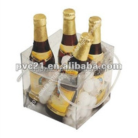 High quality colorful pvc wine cooler bag &boxes