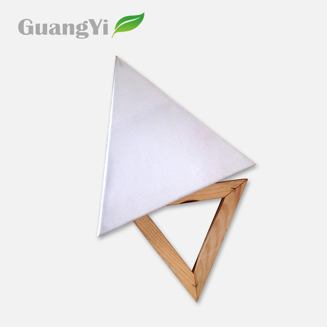 Different kinds of shapes triangle blank art canvas for drawing