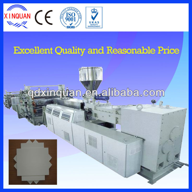PVC sheet, PVC soft & rigid board and PVC sheet manufacturing machine