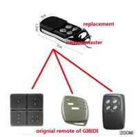 For GiBiDi AU1600 , GiBiDi Domino Compatible Multi gate remote control