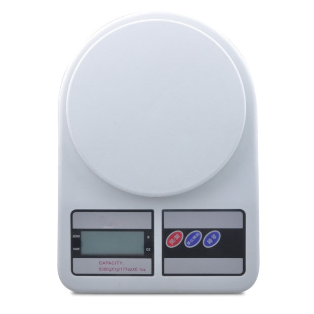 LCD Display Counter Weighing Household Scale