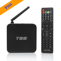 wholesale android smart tv set top box arabic box media player hd sex porn vedio free download S905 T95 Android Tv Box