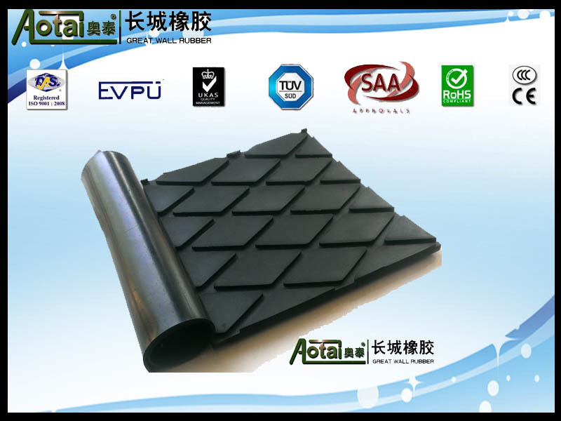 10mm 6mpa diamond rubber sheet