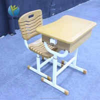 High Quality Primary school Furniture Classroom Desks and Chair Set Supplier