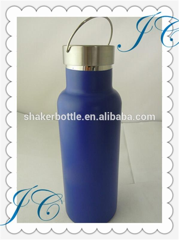 Hot sale double wall stainless steel vacuum sports water bottle with custom color