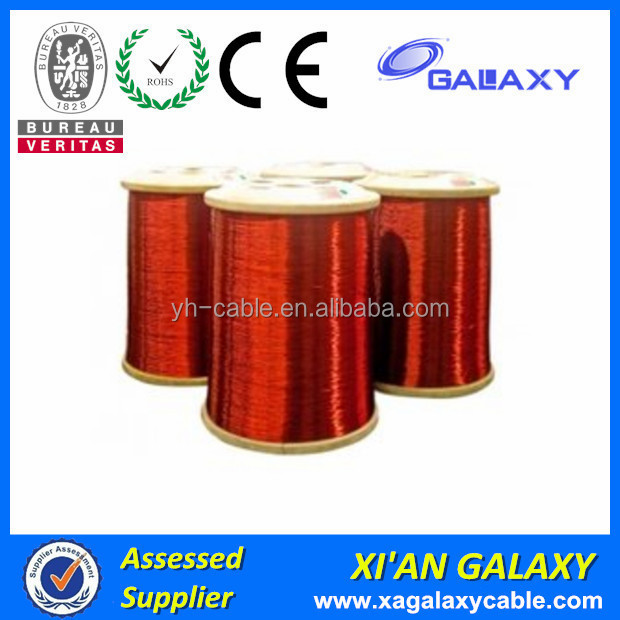 ISO Certificated Class B Lacquered Wire Enameled Copper Electric Motor Winding Wire Size
