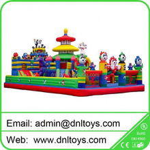 High quality inflatable slide fun city