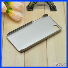 Brilliant design h ard plastic leather sticker case for iPhone 5
