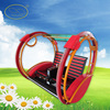 Latest Design Red Outdoor playground Ride Happy Car Retail