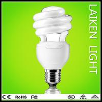 2014 consumer electronic half spiral energy salving lamp factory price style energy saving e27 7w led lighting bulb