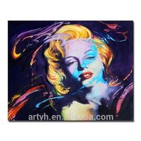 Modern Wholesale Marilyn Monroe Decorative Art Painting For Room