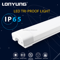 LED Parking Garage & Canopy Light subway station 50000h Working Lifetime commercial led tri proof light