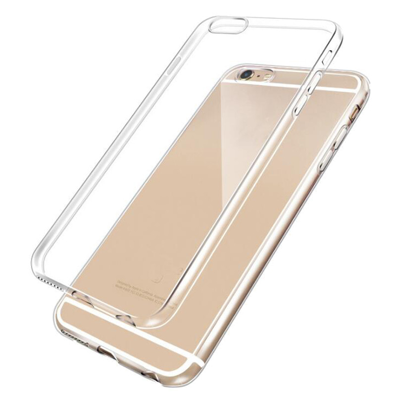 Cheap factory made plastic soft plain transparent phone mobile cases
