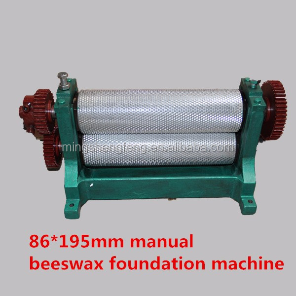 2018 Alloy bees wax mold machine for apiculture equipment