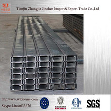 Steel C Channel Weight / Steel Channels / C Channel Purlins Specification