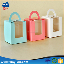 High Quality Custom Printed paper cake box with clear window