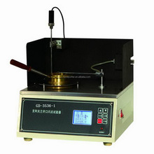 Semi-automated Cleveland Open Cup COC Flash Point Tester ASTM D92
