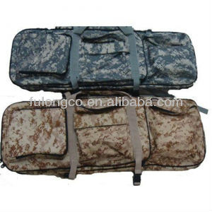 Poly 600 X 600D or PVC CAMO hunting Gun case gun bag