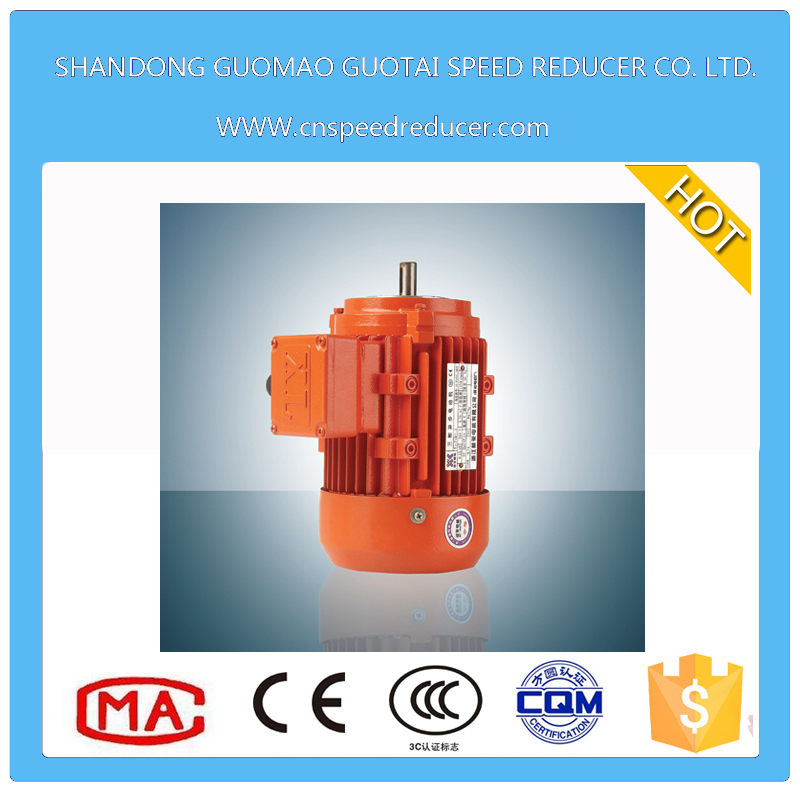 Three phase 0.75kw asynchronous electric motor with copper enameled wire