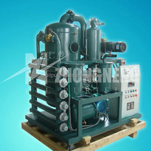 Zhongneng Vacuum Transformer oil purifier plant, Oil Treatment Unit, Oil Recycling Machine ZYD