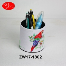 Custom Cardboard Pu Personalize Pen Holder container