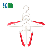 Out door Anti-slip Foldable Travelling Hanger For Clothes