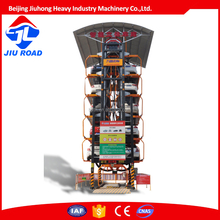 Jiuroad parking 12cars hydraulic car parking system