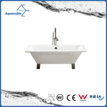 Hot sale mini cheap freestanding acrylic simple bathtub