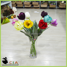 Hot Selling Tulip Artificial flower Pieces and Valentine's Day Gift Flower