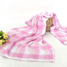Pink Beauty Gauze Cotton Bath Towel