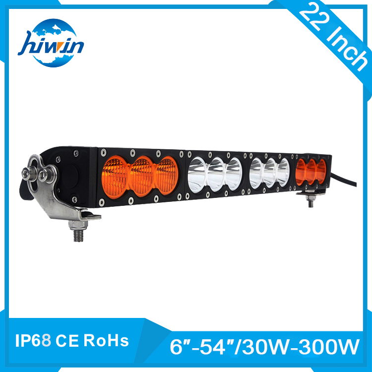 Hiwin 10w Tractor Led Light Bar 12V 24V CREES Chip Led Lighting Bar For Mining,Trucks/Offroad