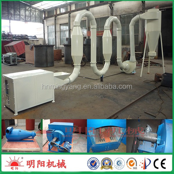 China best supplier hot gasflow wood sawdust dryer use in charcoal making line