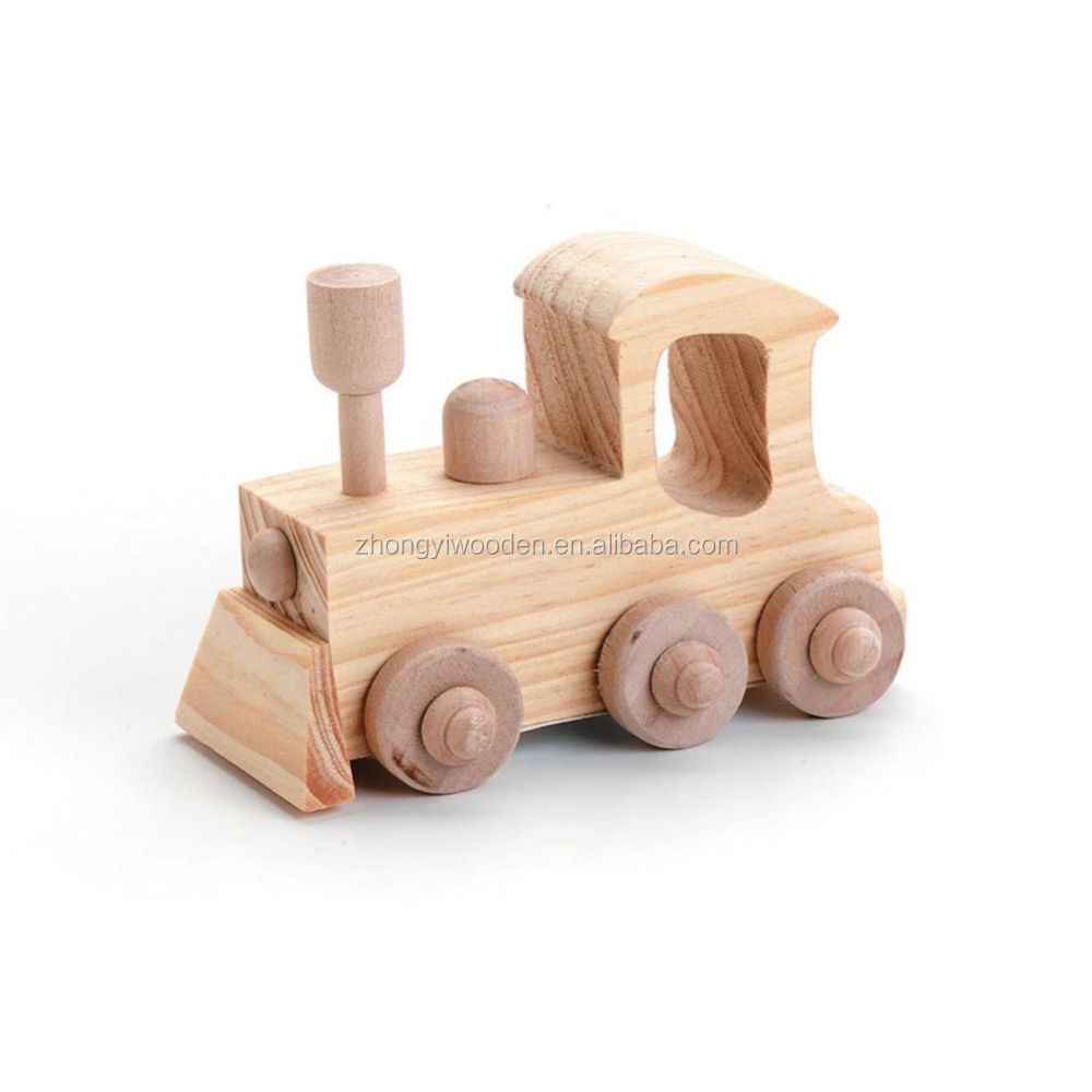 Lovely custom handcraft mini small wood truck model toys for kids