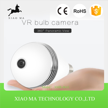 Comptitve price 360 degree light bulb ip camera led light Bulb camera XMR-JK43