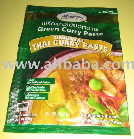 Green Curry Paste Thaifood