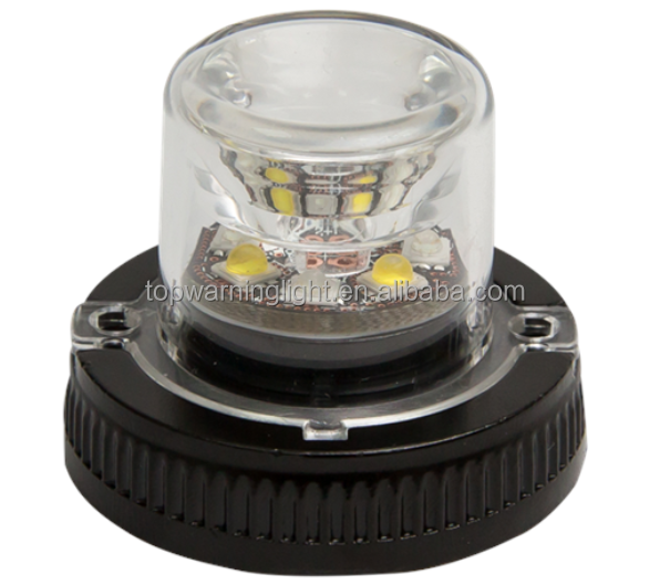 LED All In One Strobe Lights Mini Emergency Vehicle LED Warning Lights Waterproof Warning Light