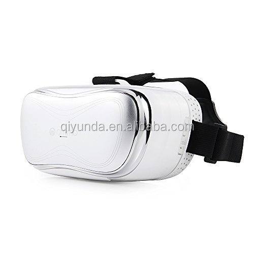 3D VR ALL-In-One HMD Android 4.4 5.0 inch Full-HD Screen Bluetooth WIFI Micro USB TF Card 3D Glass (Black, White)