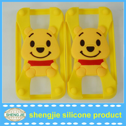 China manufacturing customized silicone bumper phone case wholesale universal unique 3d cases
